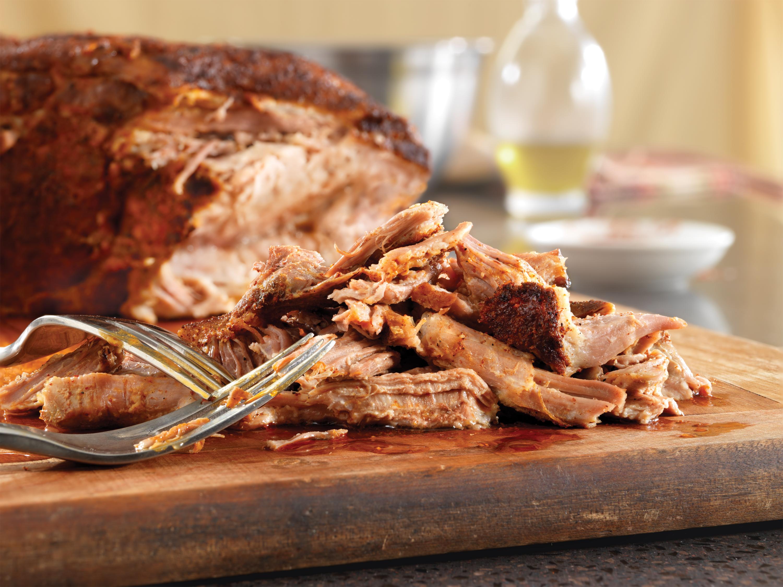 Chili Rub Slow Cooker Pulled Pork - Pork Recipes - Pork Be Inspired