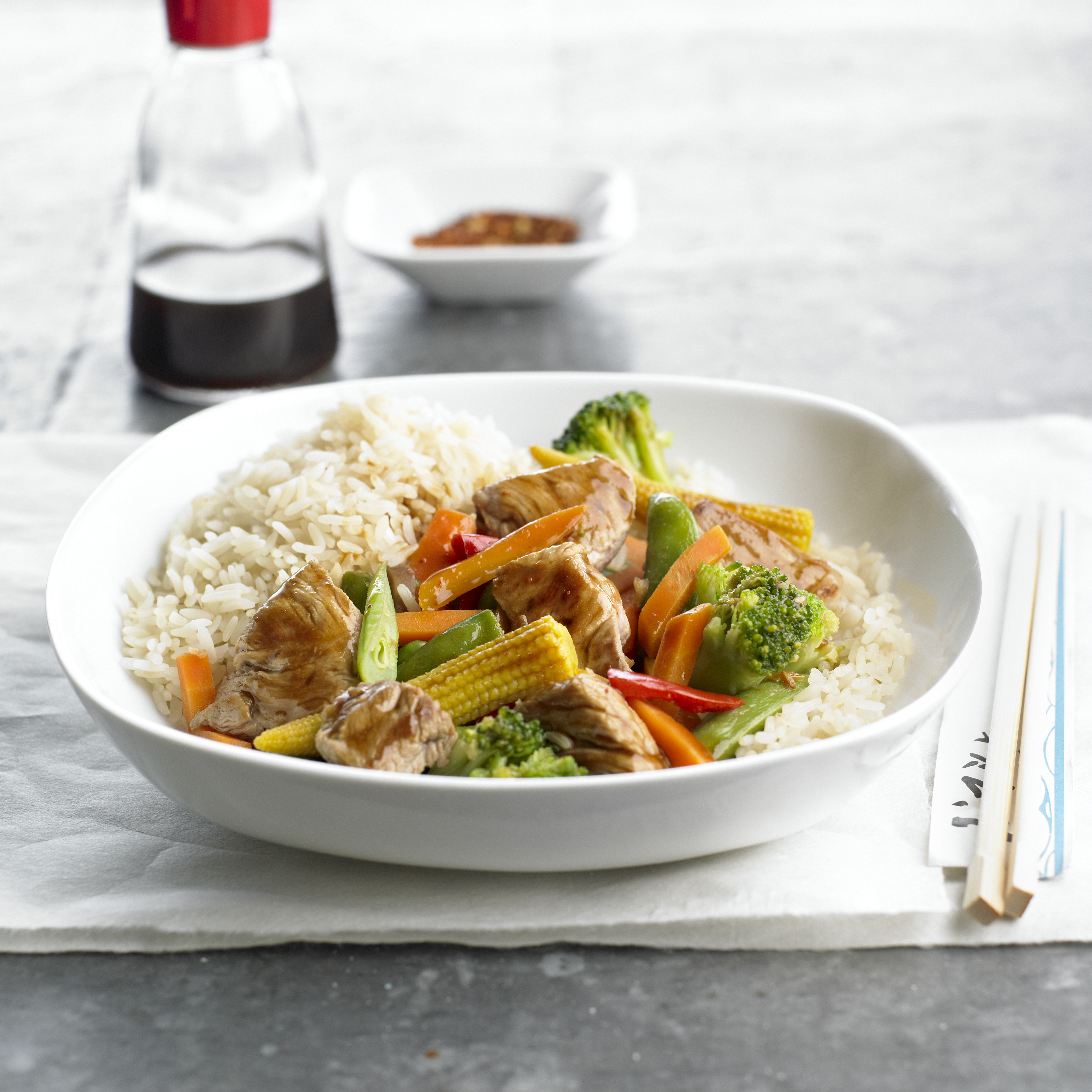 Ginger Pork Stir-Fry - Pork Recipes - Pork Be Inspired