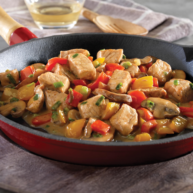 Italian Pork and Vegetable Saute - Pork Recipes - Pork Be Inspired