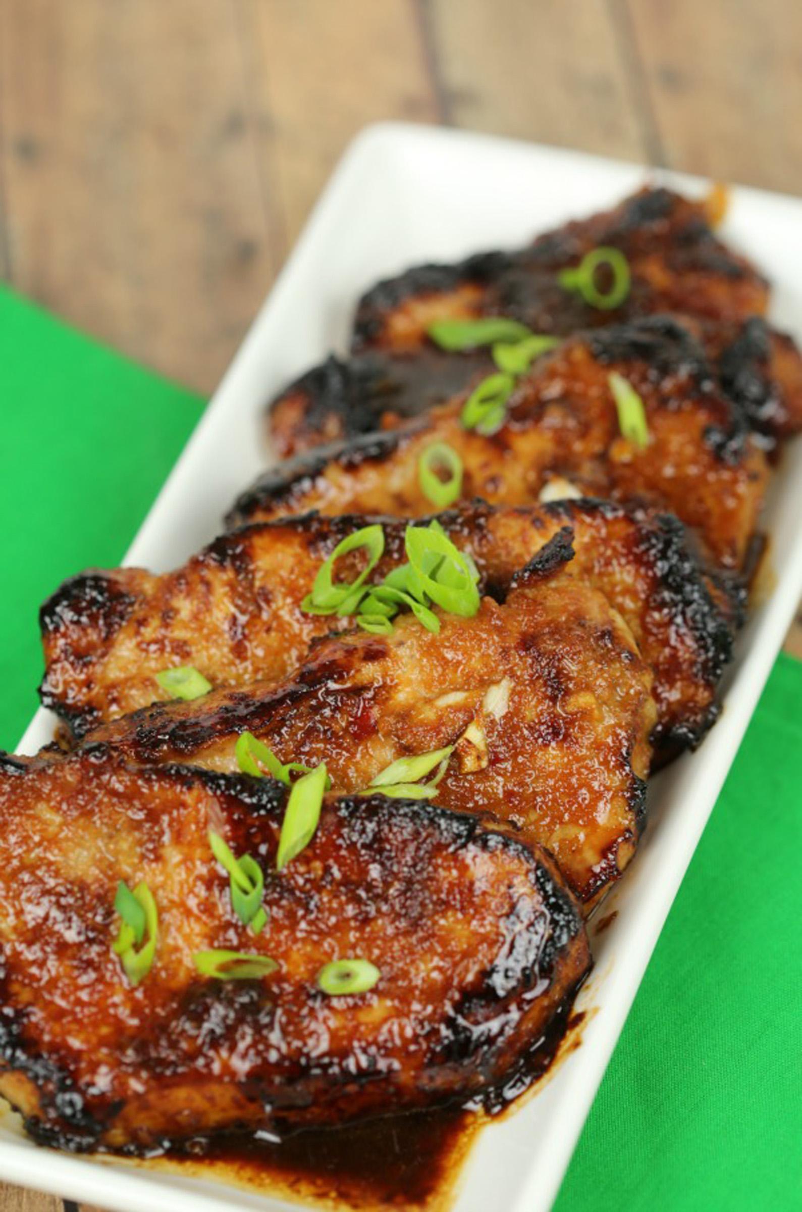 Korean pork chops pork recipes pork be inspired