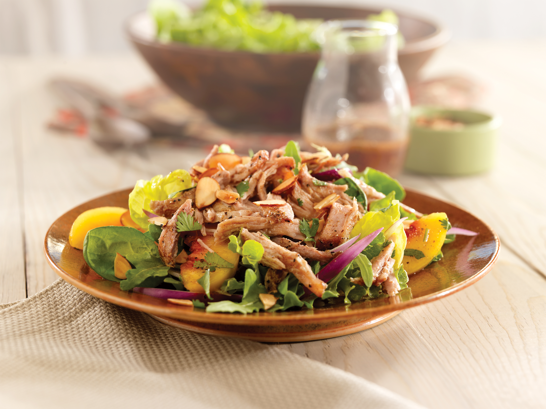 Салат с мясом и шампиньонами рецепт