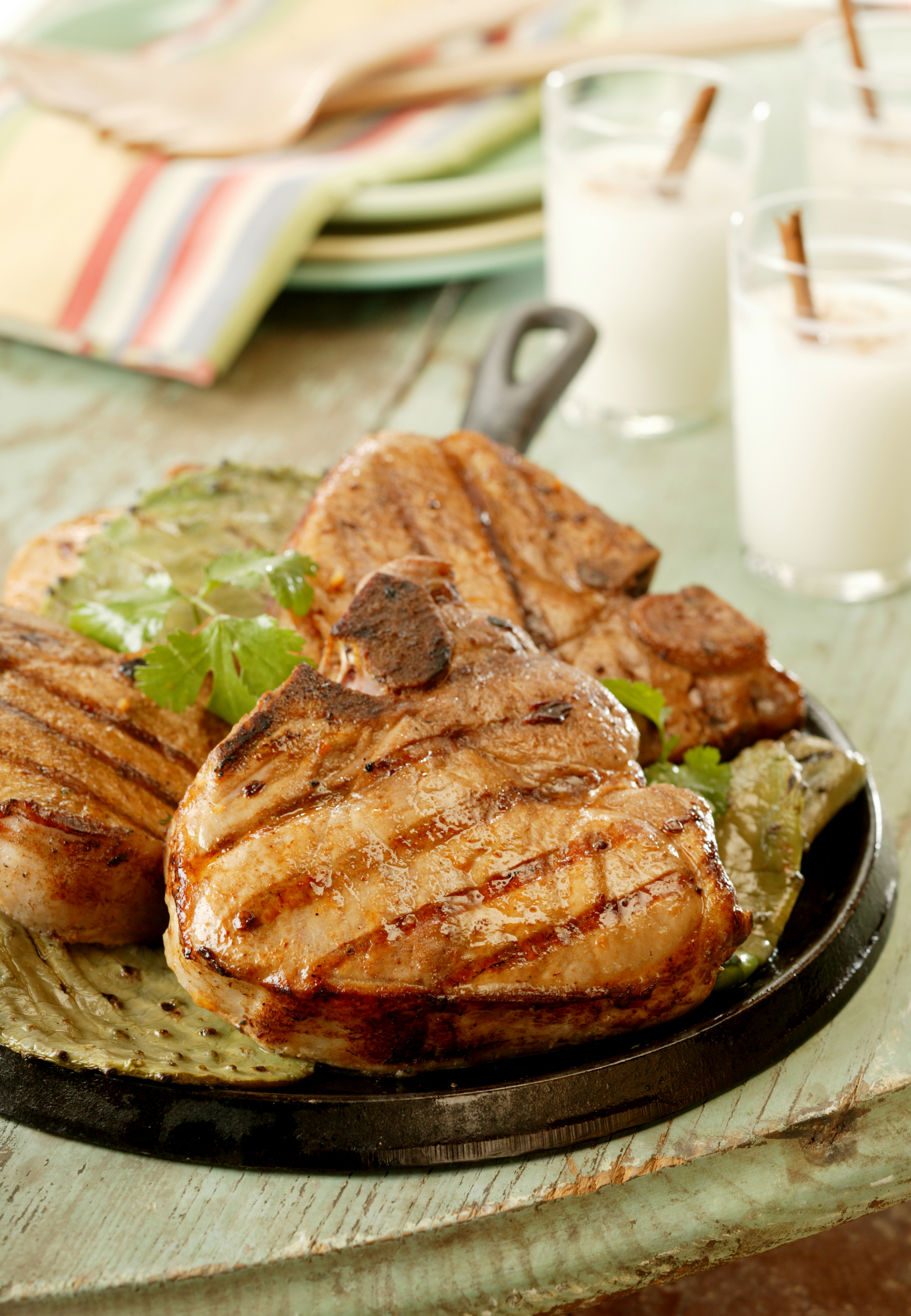 Chipotle-Lime Marinated Grilled Pork Chops - Pork Recipes - Pork Be ...