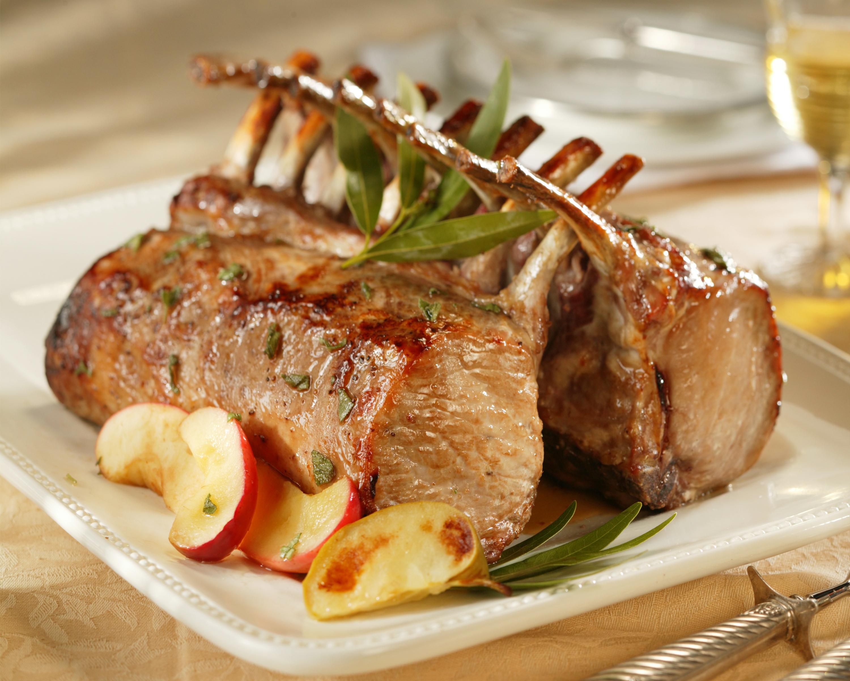 Honey And Sage Roasted Rack Of Pork Pork Recipes Pork