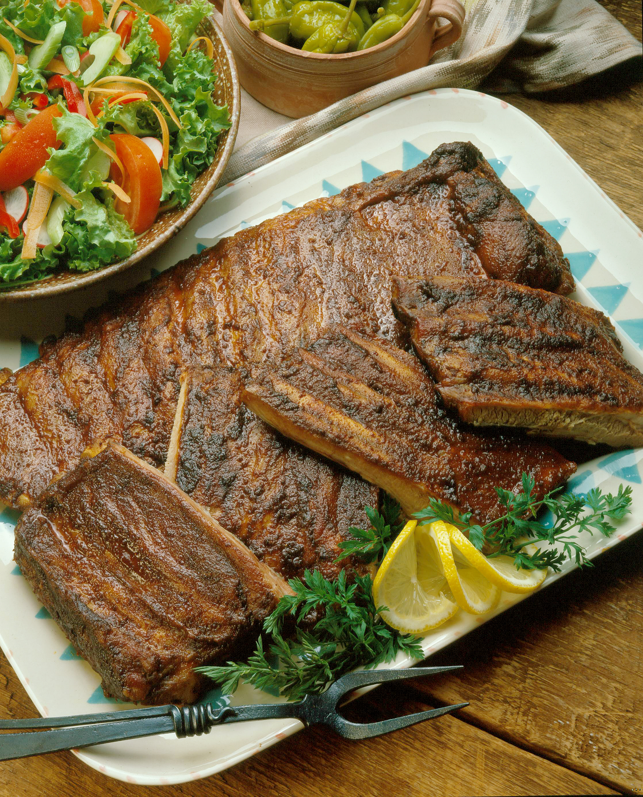 Western Sweet Dishes Recipes: Spicy Western-Style Spareribs