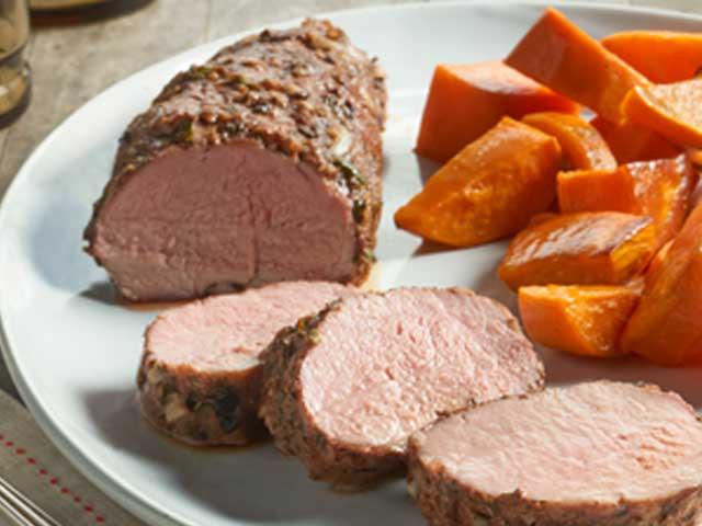 Jerk Seasoned Pork Tenderloin