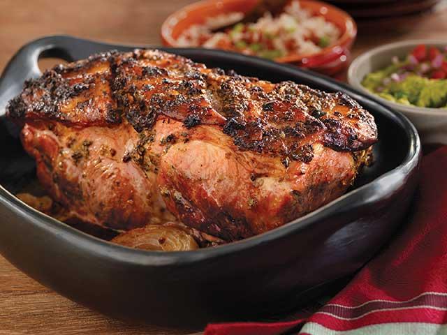 Roast Pork Shoulder Caribbean-Style