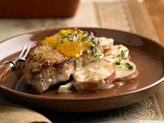 Sunday Pork & Potatoes