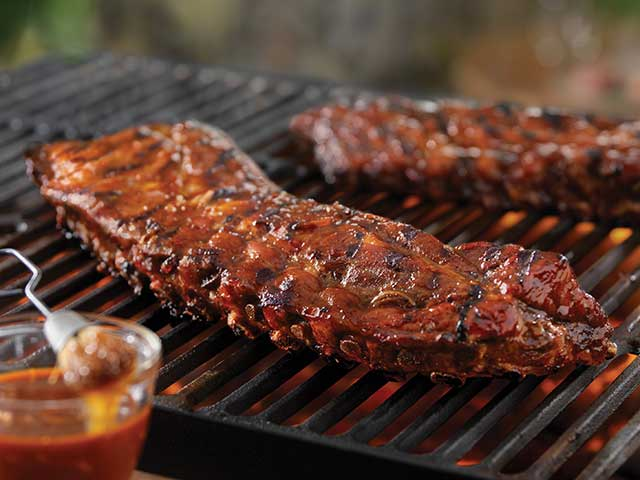 Tangy Grilled Back Ribs