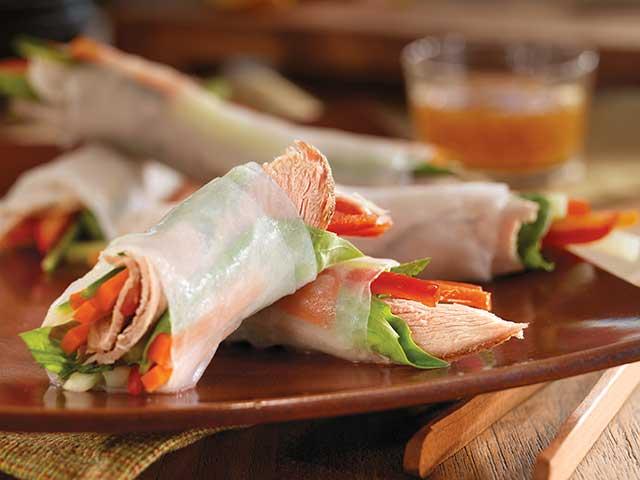 Vietnamese Spring Rolls with Slow-Cooked Pork - Pork Recipes - Pork Be ...