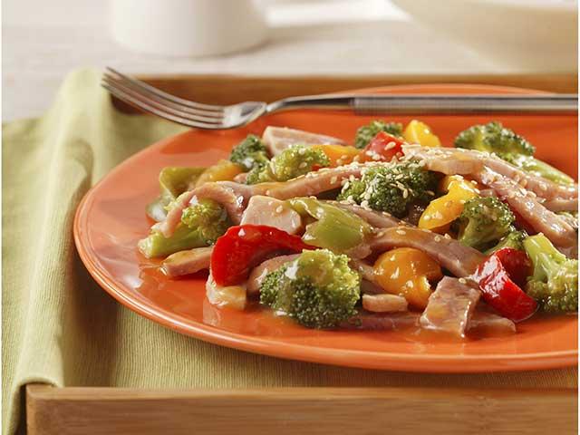 Ginger-Sesame Stir-Fry with Vegetables