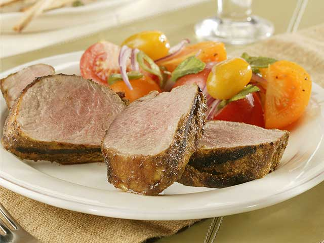 Pork fillet and tomato recipes