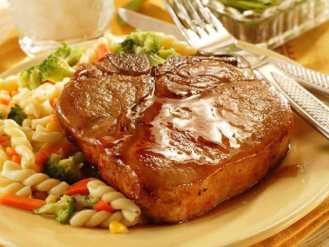 Honey-Glazed Pork Chops