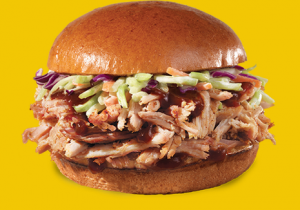 Wendy's Pulled Pork