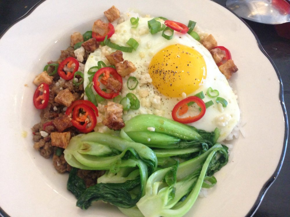 Minchi Hash - Fat Rice