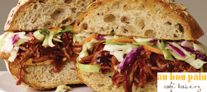 Au Bon Pain pulled pork