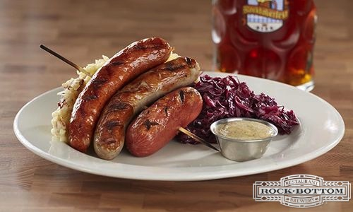 Rock-Bottom-Brewery-Restaurant-German-Sausage-Platter