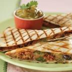 Fast-off-the-Grill Chorizo Quesadillas