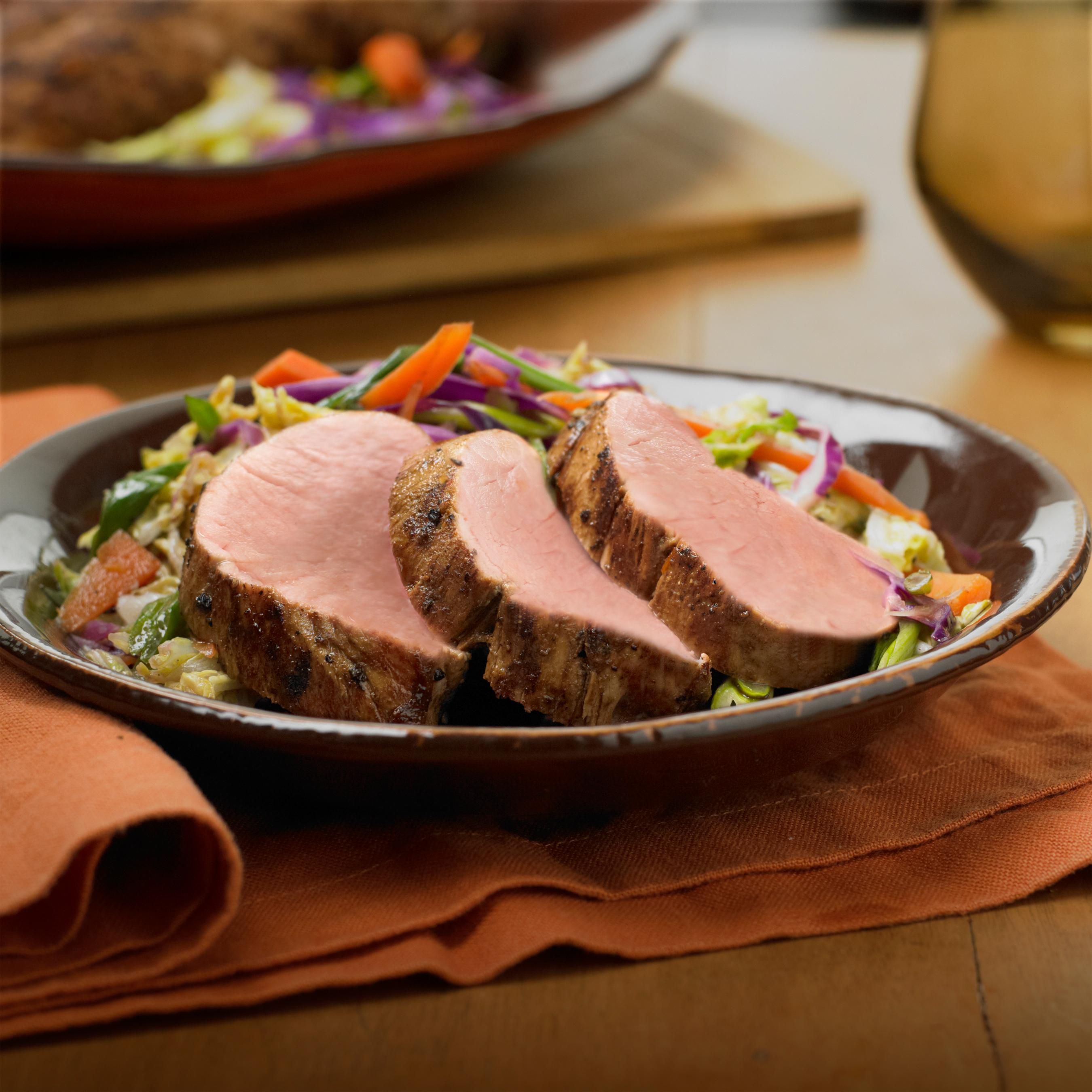 ... with Napa Cabbage & Carrot Stir-Fry - Pork Recipes - Pork Be Inspired