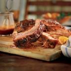 Saucy Chili-Orange Pork Back Ribs