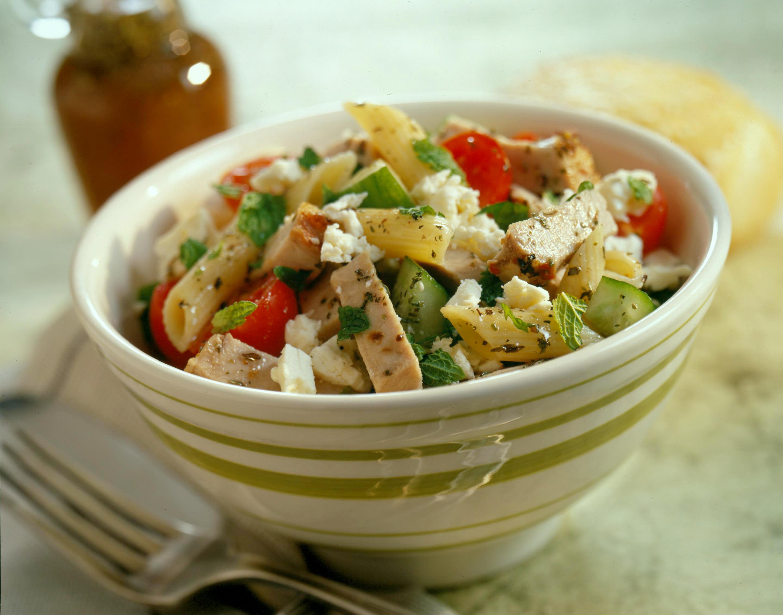 Mediterranean Pasta Salad - Pork Recipes - Pork Be Inspired