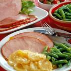 Ham with Fruit Glaze