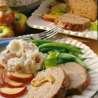 Mustard-Apple Meat Loaf