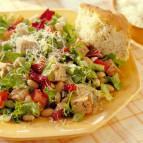 Tuscan Pork and Bean Salad