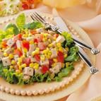 Herbed Pork and Corn Salad