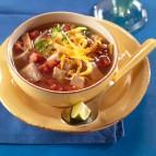 Southwestern-style Pork Tortilla Soup