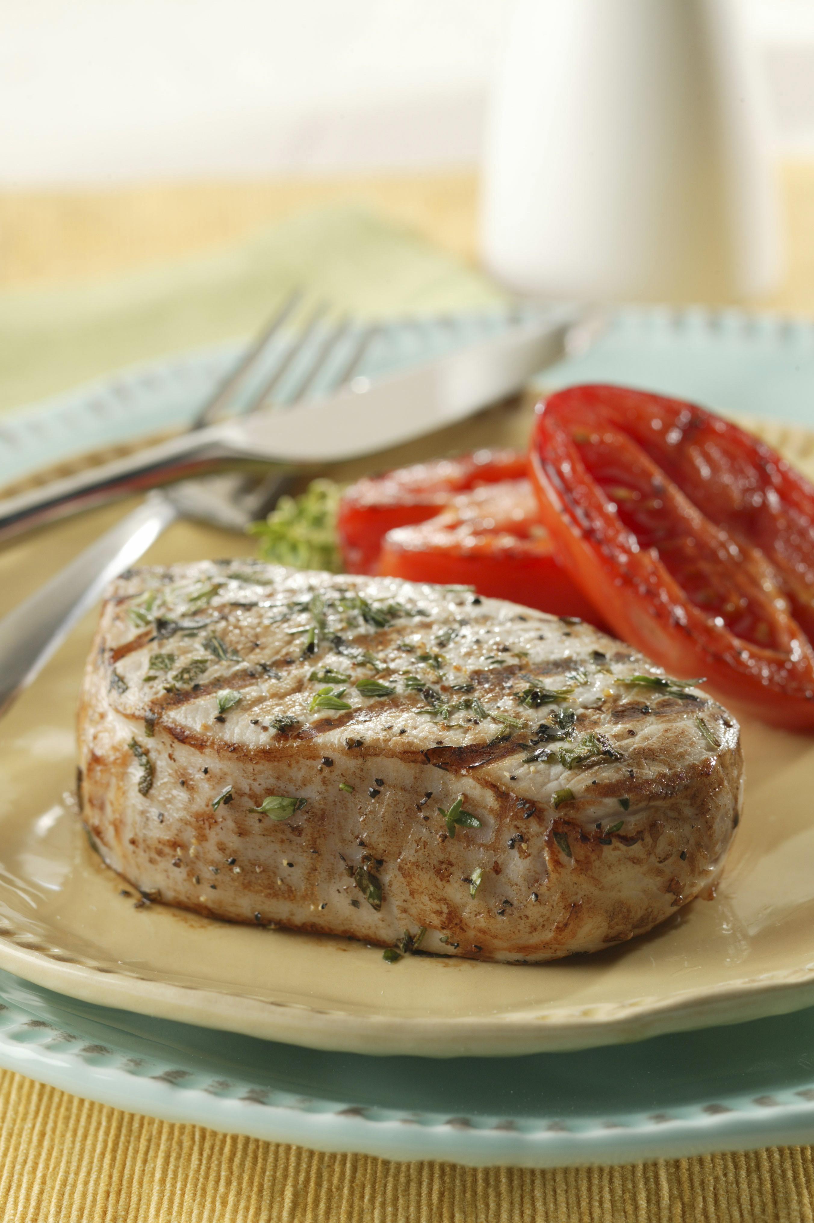 Herbed Marinated Pork Chops - Pork Recipes - Pork Be Inspired
