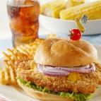 Midwestern Pork Tenderloin Sandwich