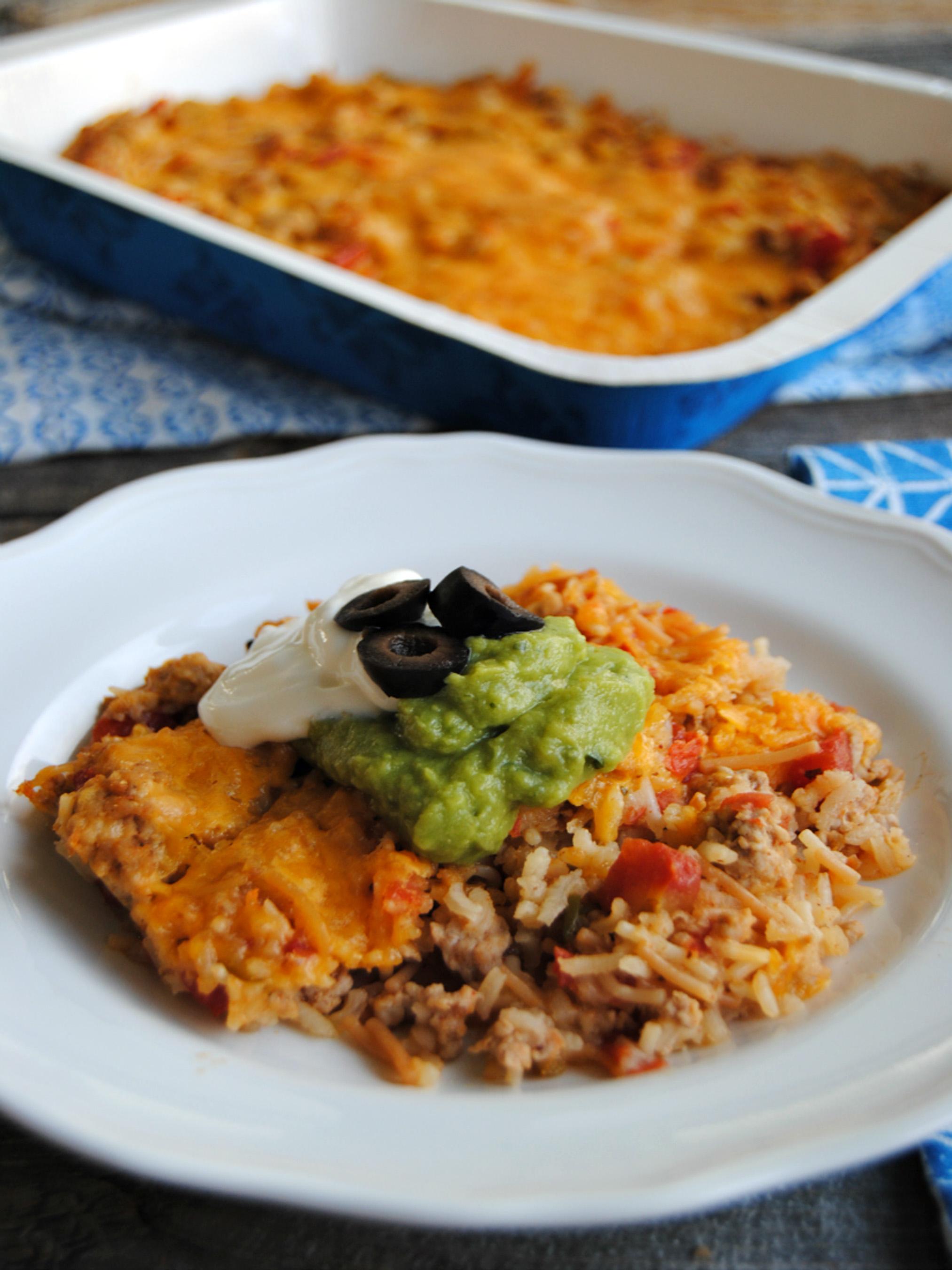 Pork Taco Rice Casserole - Pork Recipes - Pork Be Inspired