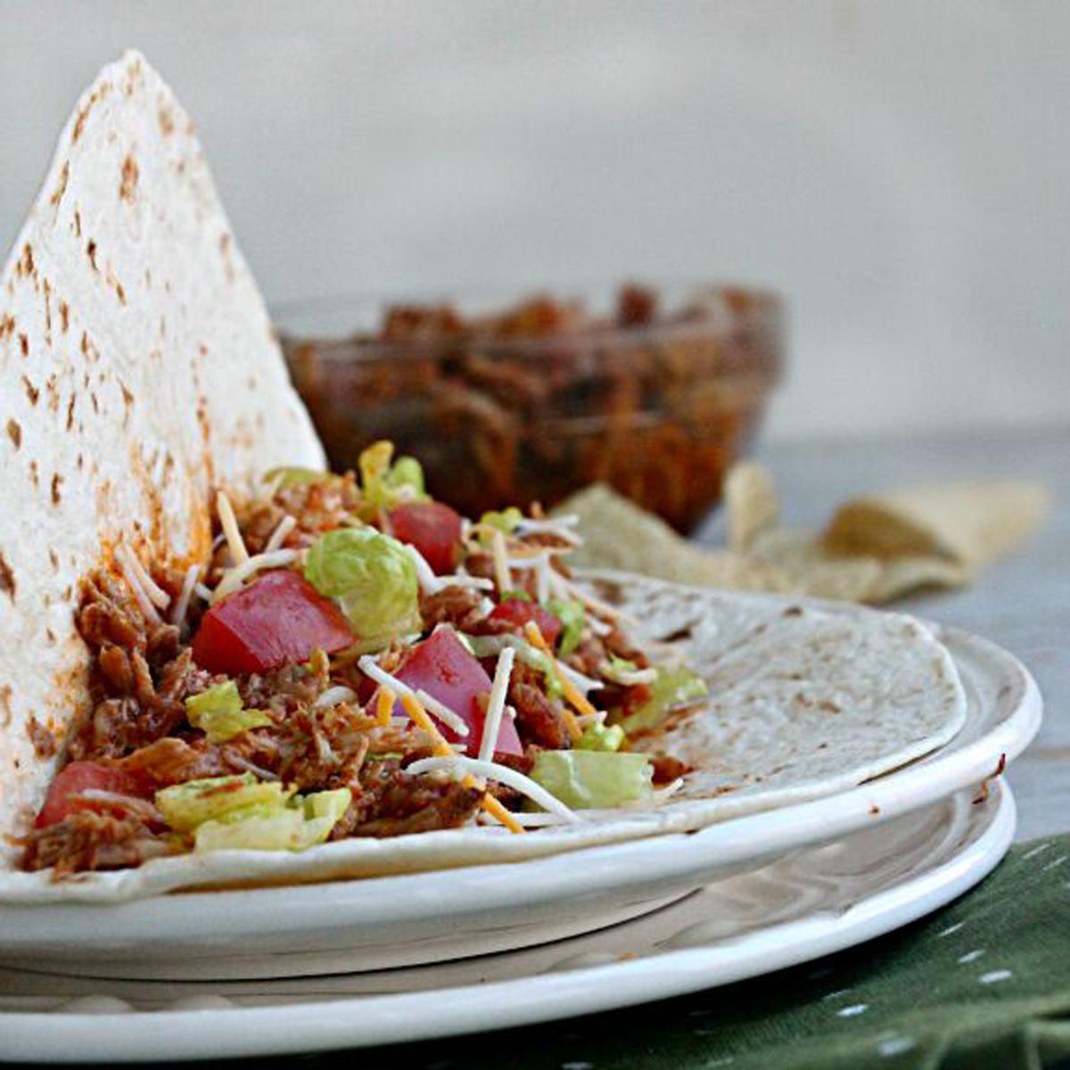 Slow Cooker Mexican Pulled Pork Tacos - Pork Recipes - Pork Be ...