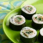 Green Eggs & Ham Sushi