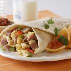 Ham and Egg Breakfast Burritos