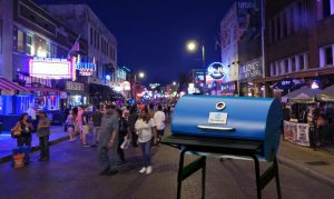 An evening to remember on the world famous Beale Street!