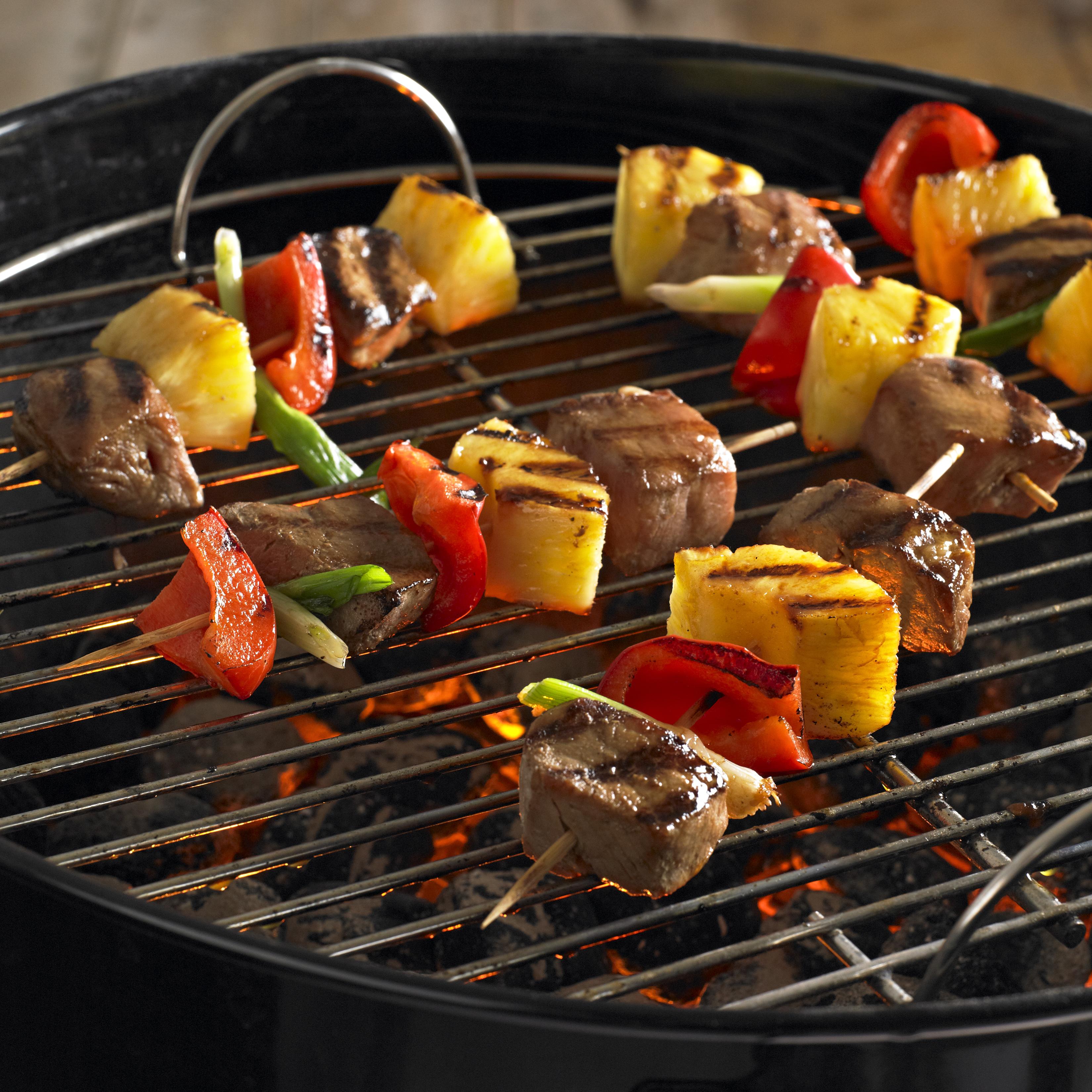 Asian Pork and Pineapple Kabobs - Pork Recipes - Pork Be ...