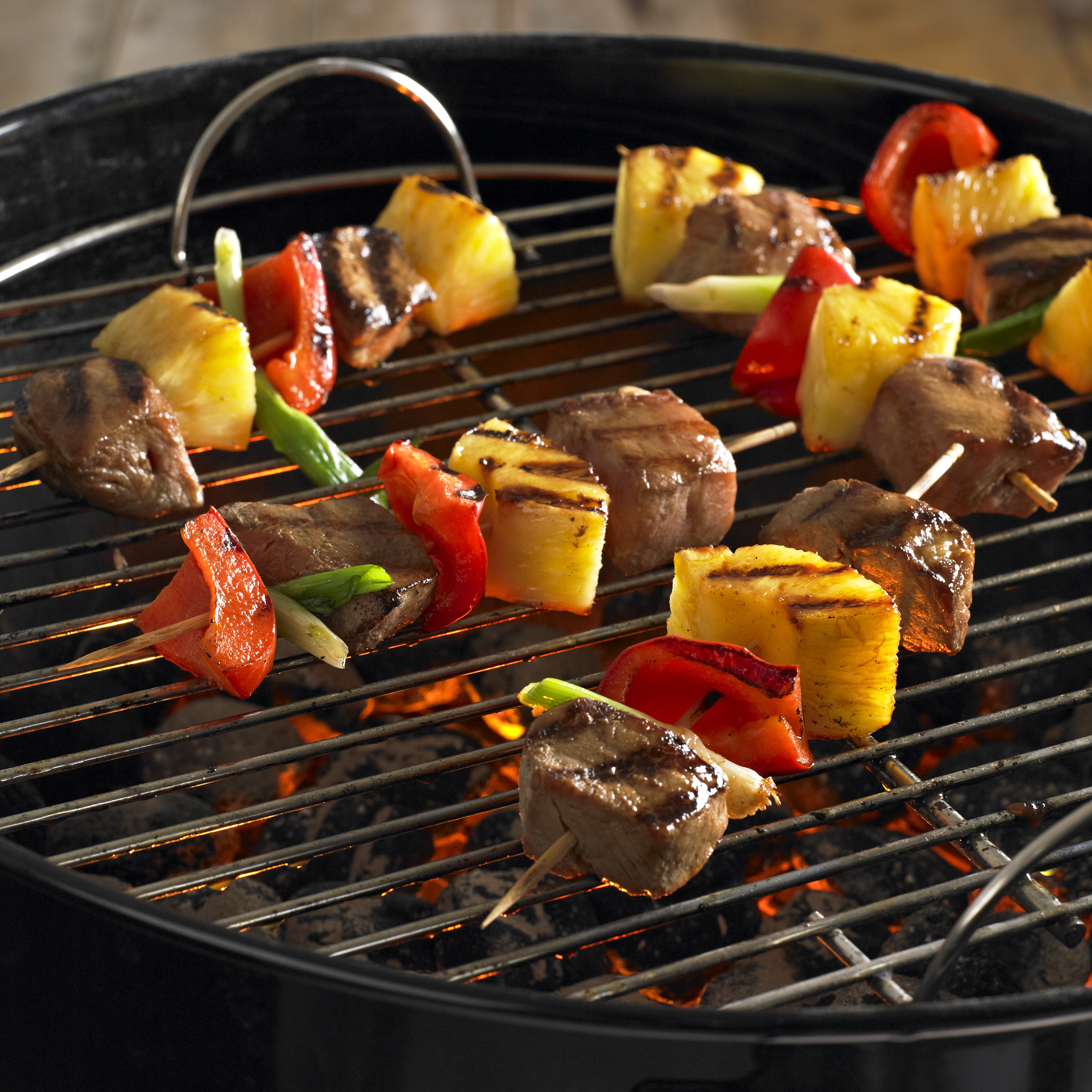 Asian Pork and Pineapple Kabobs - Pork Recipes - Pork Be Inspired