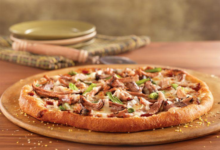 BBQ Pulled Pork Pizza