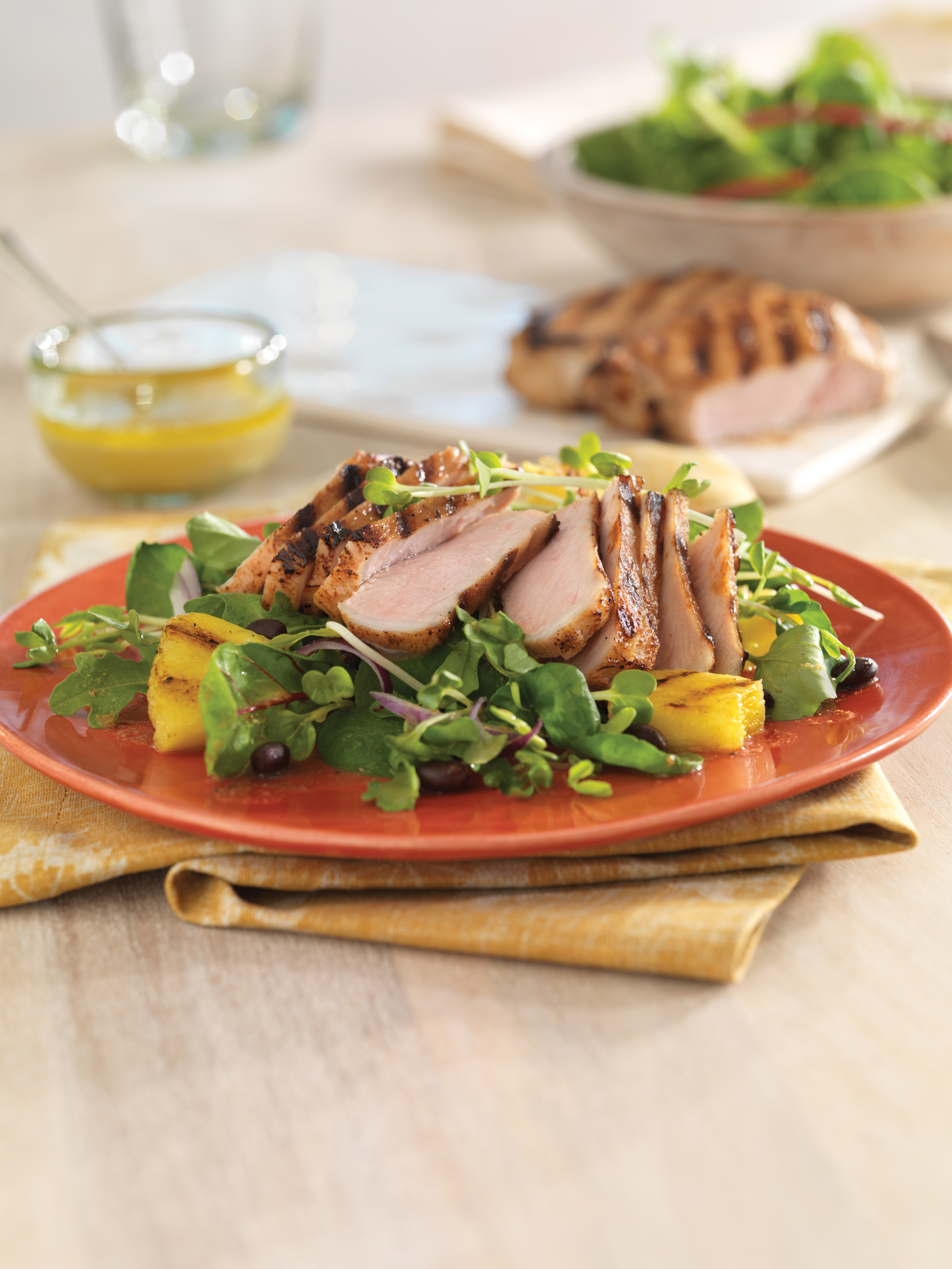 Cuban Pork Adobo Salad - Pork Recipes - Pork Be Inspired