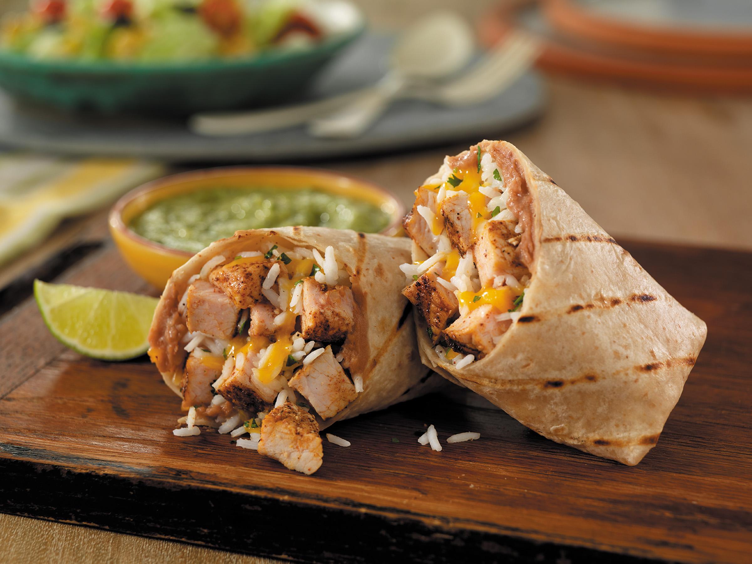 Grilled Pork Burritos With Salsa Verde Pork Recipes