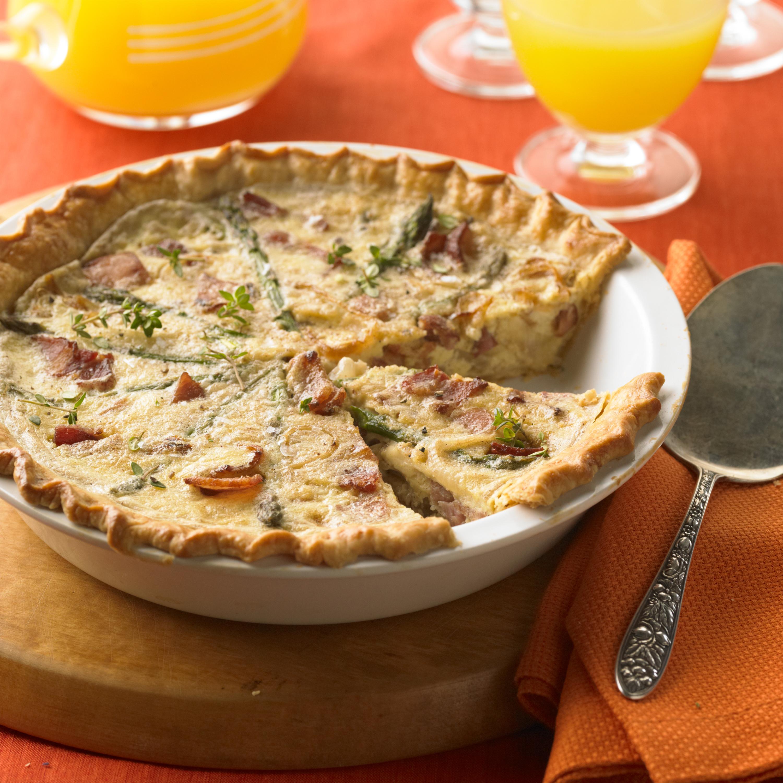 Ham, Bacon, and Caramelized Onion Tart - Pork Recipes ...