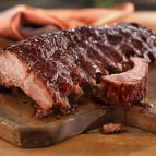 Mediterranean Back Ribs with Pomegranate Sauce