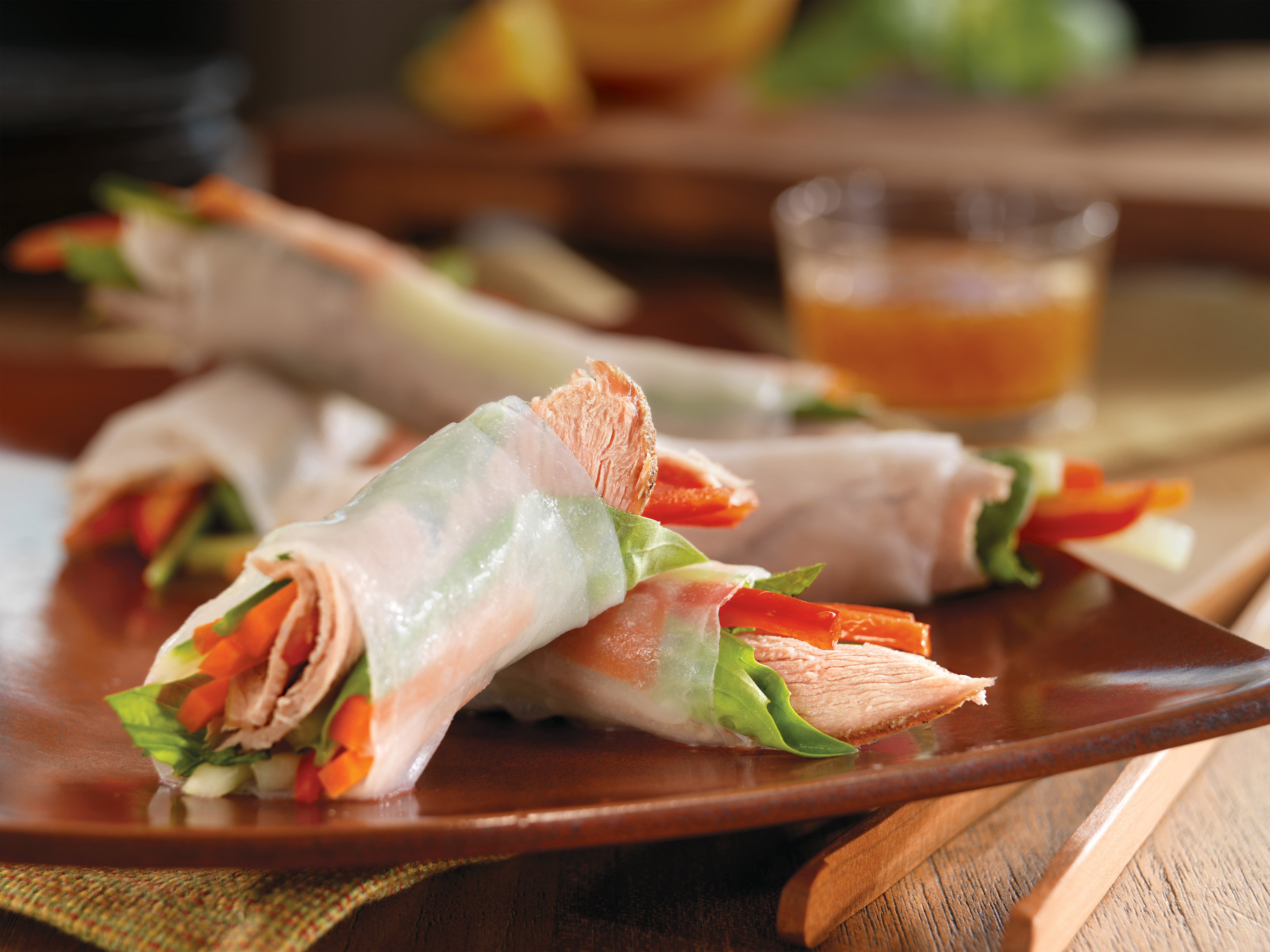 Vietnamese Spring Rolls with Slow-Cooked Pork - Pork Recipes - Pork Be ...