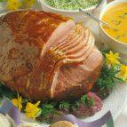 Baked Ham with Honey-Apricot Glaze