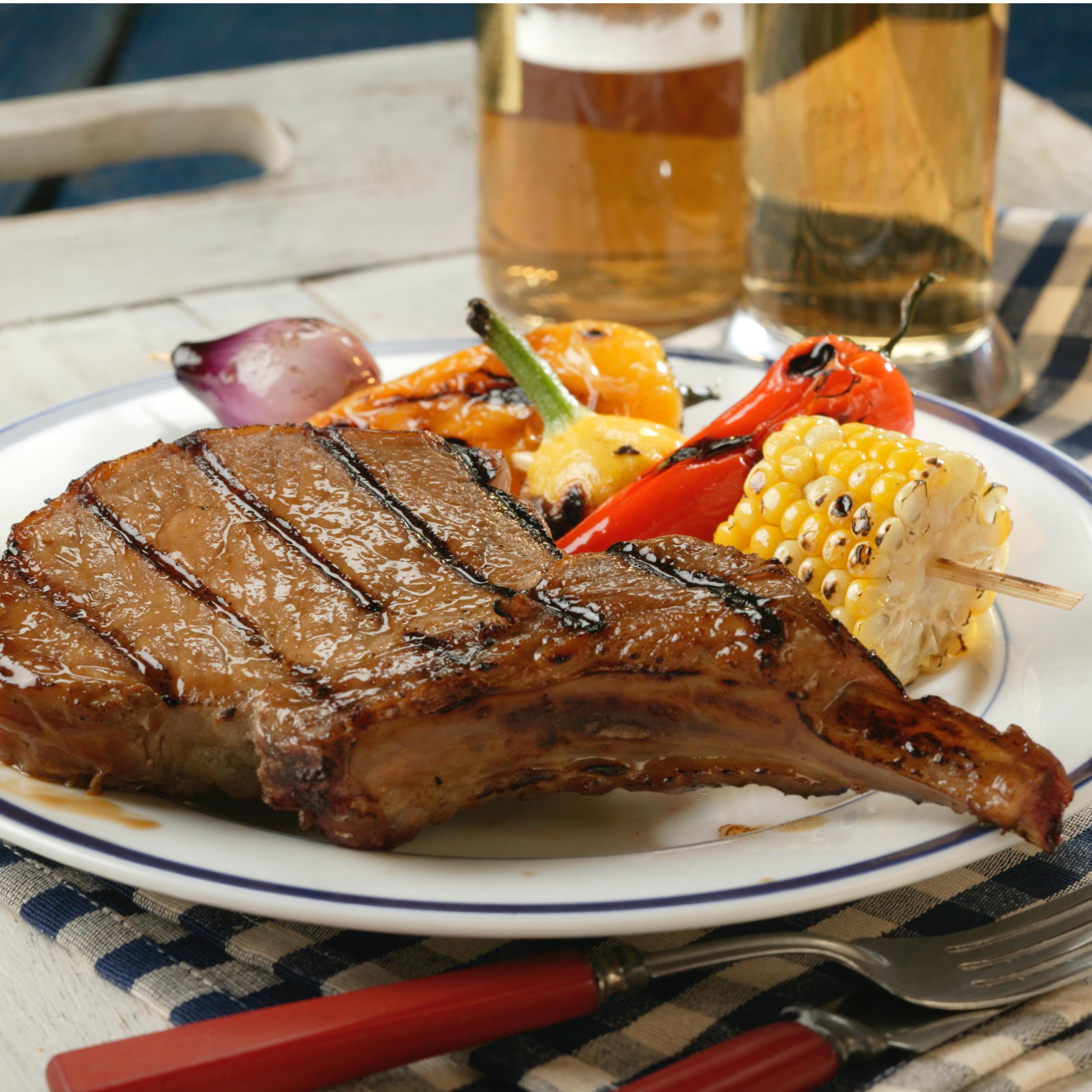 Beer Grilled Chops Pork Recipes Pork Be Inspired
