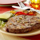 Blade Steaks Marinated with Jalapeño Chiles & Cilantro