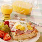 Breakfast Ham Focaccia
