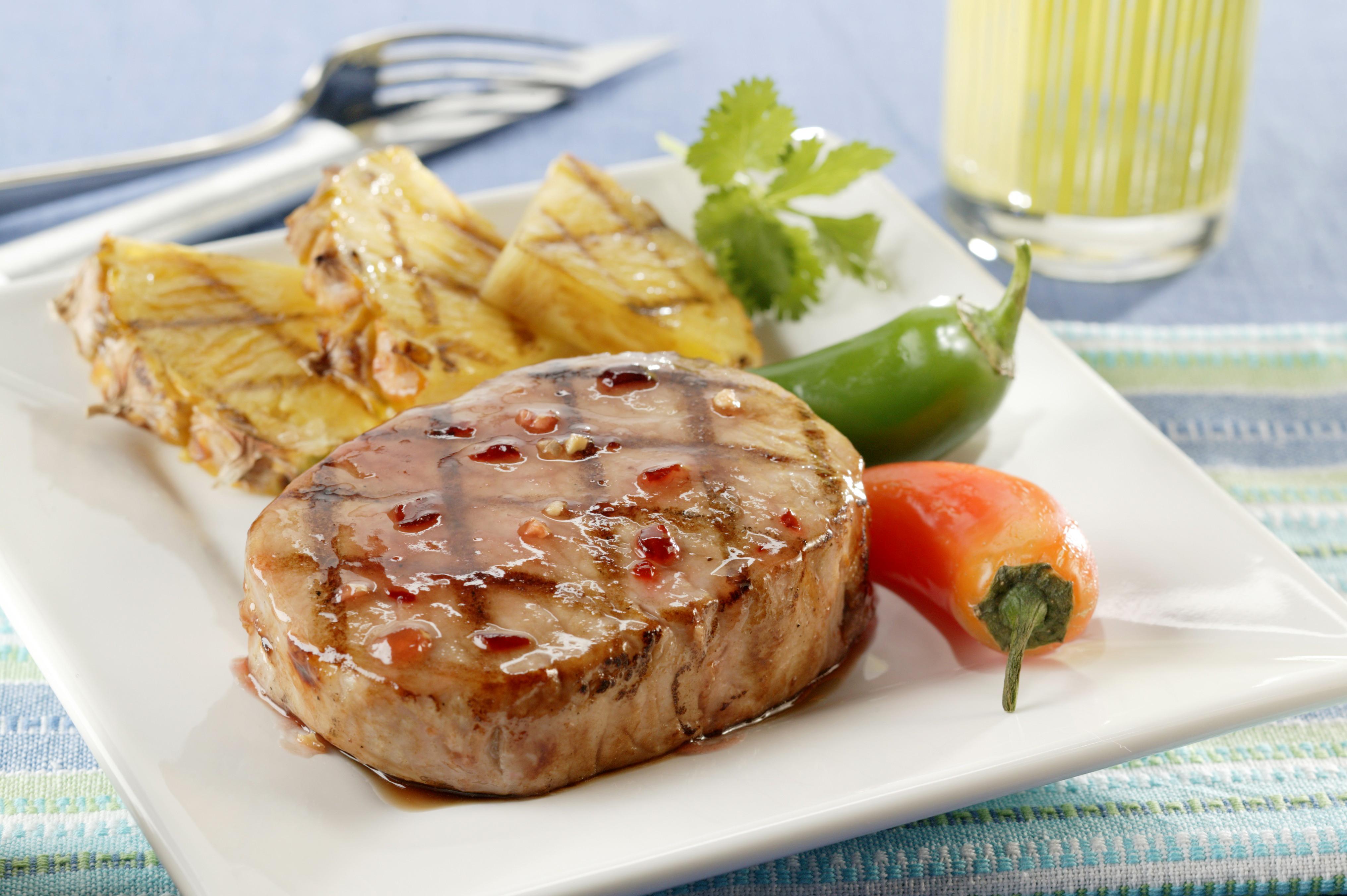 Fiery Island Pineapple Pork Chops - Pork Recipes - Pork Be ...
