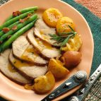 Grilled Pork Loin with Honey and Port